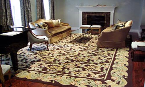 Room setting Rug No.SV 43