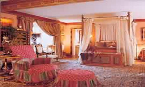 Antique Lavar Kerman Carpet