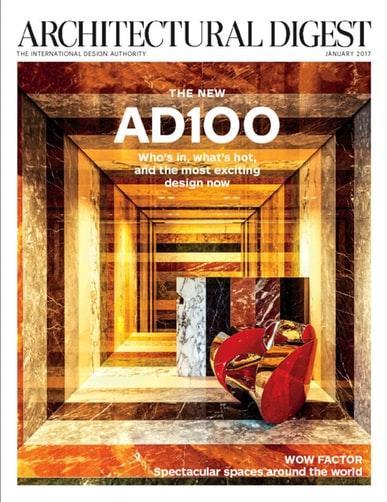 Architectural Digest Magazine .