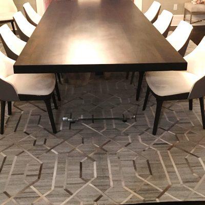 Hide rug no# HD 08 Size 10 x 14 feet