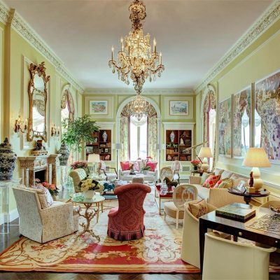 Private Residence New Jersey - MASTOUR Aubusson Carpet