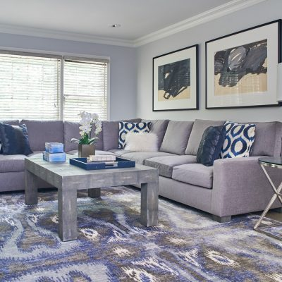 Private Residence in Montana Rug by MASTOUR Couture
